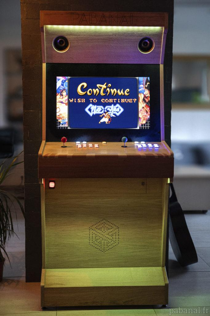 Borne d'arcade PABANAL !